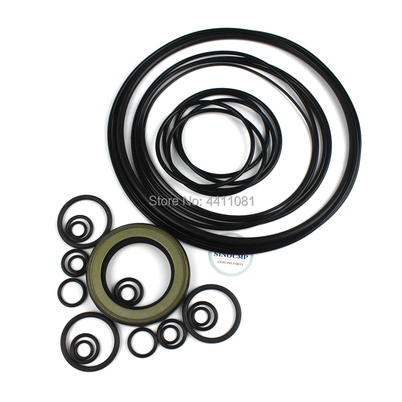 For Hitachi Zaxis ZX200-1 Hydraulic Pump Seal Repair Service Kit Excavator Oil Seals, 3 month warranty rare hitachi zaxis 210 hydraulic excavator 1 40 scale diecast model