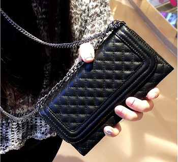 Luxury folding mirror card wallet leather Cover for iphone XS MAX Case XR for iphone 11 Pro Max case 7 8plus crossbody chain bag