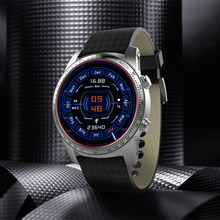 original Kingwear KW99 Wearable Devices Android 5.1 MTK6580 8GB/ROM SIM WIFI GPS Heart Rate Monitor smartwatch men