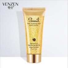 24K gold Snail Essence Cleansing Gel Deep Clean Shrink Pores Hydrating Whitening Moisturizing Cleanser 100g