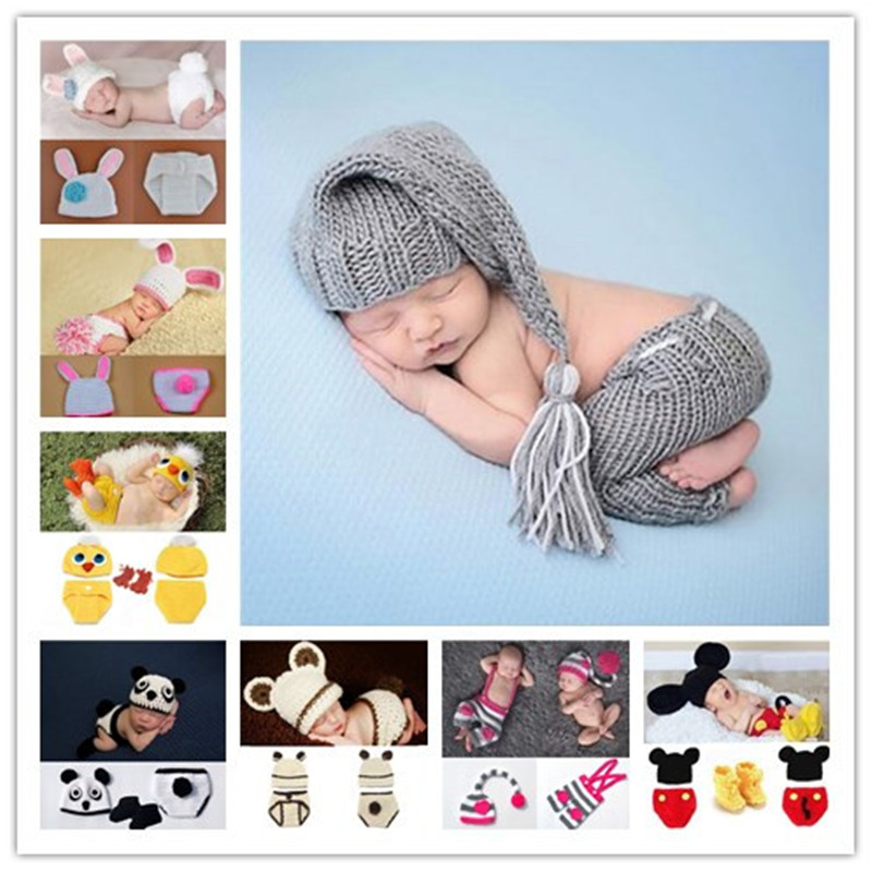 2018 New Bunny Rabbit Newborn BABY Photography Props Easter Rabbit Infant Baby Photo Prop Crochet Photography Props easter day basket branch bunny photo studio background easter photography backdrops page 2