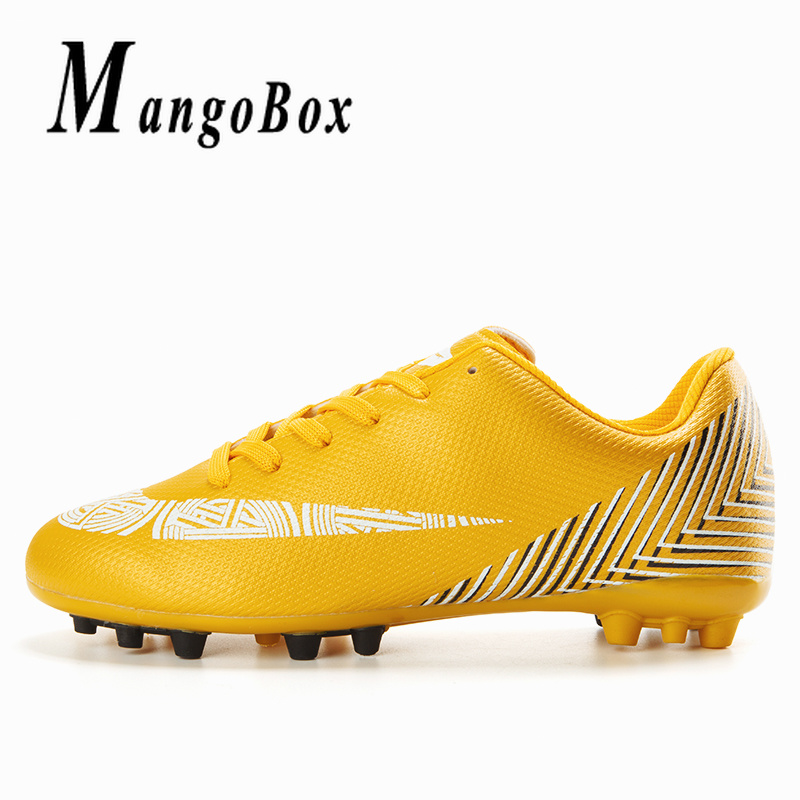 Cool Outdoor Football Shoes For Children Gold Blue Latest Soccer Cleats  Brand Women Soccer Sneakers Training Game Sneakers Kids-in Soccer Shoes  from Sports ... 99acb2d58d