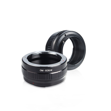 Viltrox EOSM Manual camera Lens adapter for Olympus lens to Canon EOS M EF-M M2 M3 M5 M6 M10 M50 M100 Camera mcoplus 12mm f 2 8 manual ultra wide angle lens aps c for canon eos ef m mount mirrorless camera eos m eos m2 eos m10 eos m3