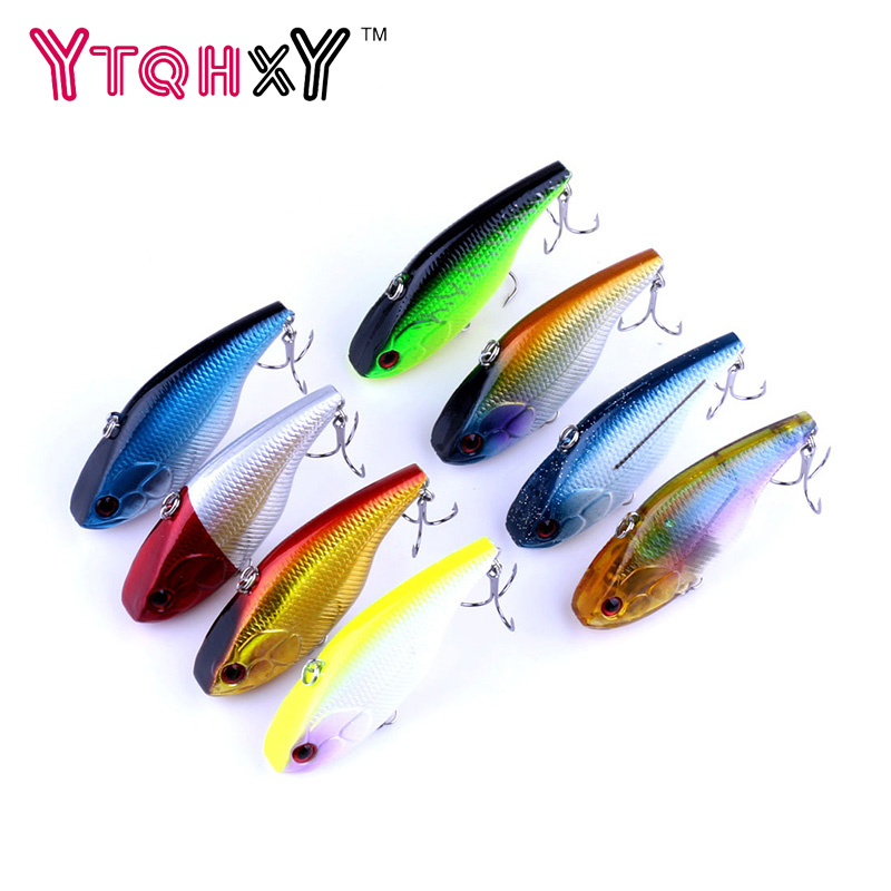 1pcs 7.5cm 18.6g VIB Fishing Lure iscas artificiais para pesca fishing wobblers crankbait fishing lures fishing tackle YE-284 1pcs 12cm 11 5g fishing lure bass bait minnow lures 6 hook iscas artificiais para pesca crankbait fishing tackle zb34