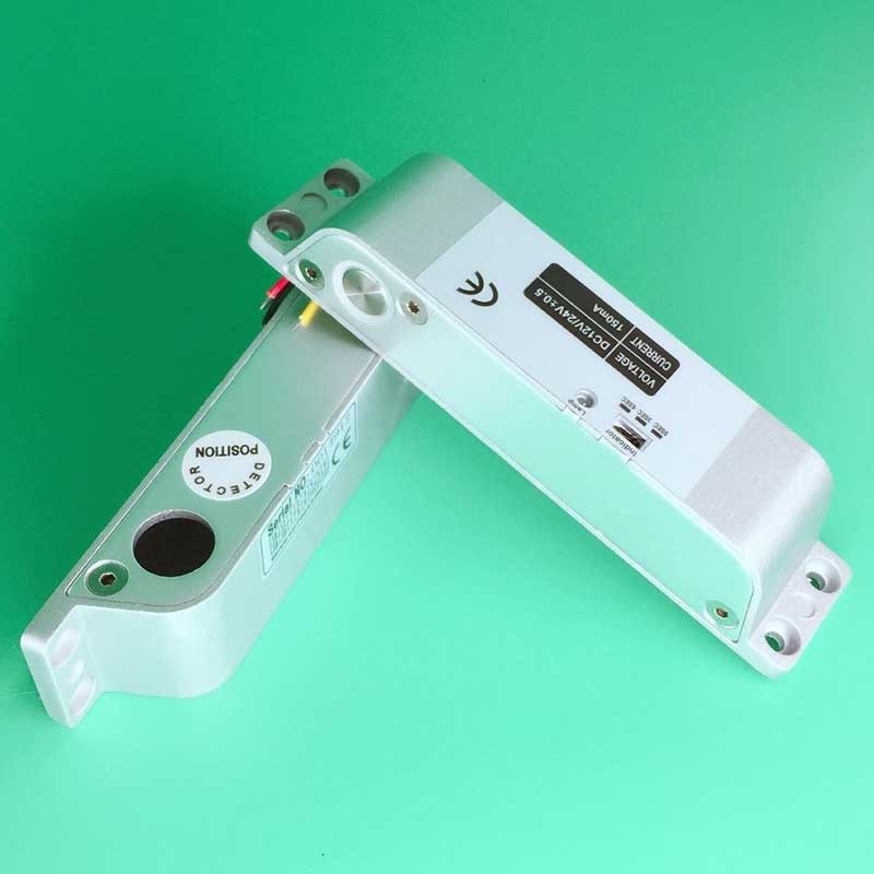 NC Electric Mortise DC 12V Fail Safe Electric Drop Bolt Lock for Door Access Control Security Lock System silver electric strike door lock dc 12v for access control system electromagnet fail safe electric bolt lock