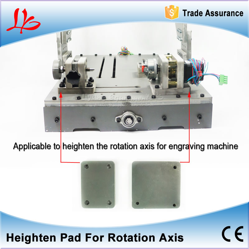 CNC router Highten pad for DIY 3040 CNC engraving machine mini milling machine increase working height eur free tax cnc 6040z frame of engraving and milling machine for diy cnc router