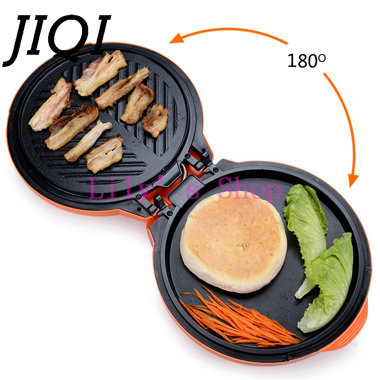 JIQI Electric Crepe Makers Pizza Pancake baking Machine electrical grill Griddle frying machine pie cooking tool pan 1300W EU US jiqi stainless steel electric crepe maker plate grill crepe grill machine page 4