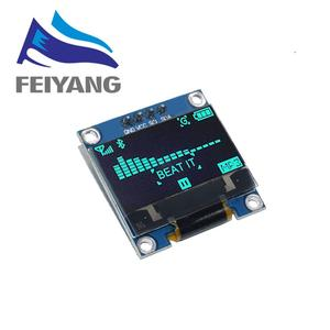 """Image 5 - 100PCS 4pin 7pin White/Blue/Yellow Blue color 0.96 inch 128X64  OLED Display Module For Arduino 0.96"""" IIC I2C SPI Communicate"""
