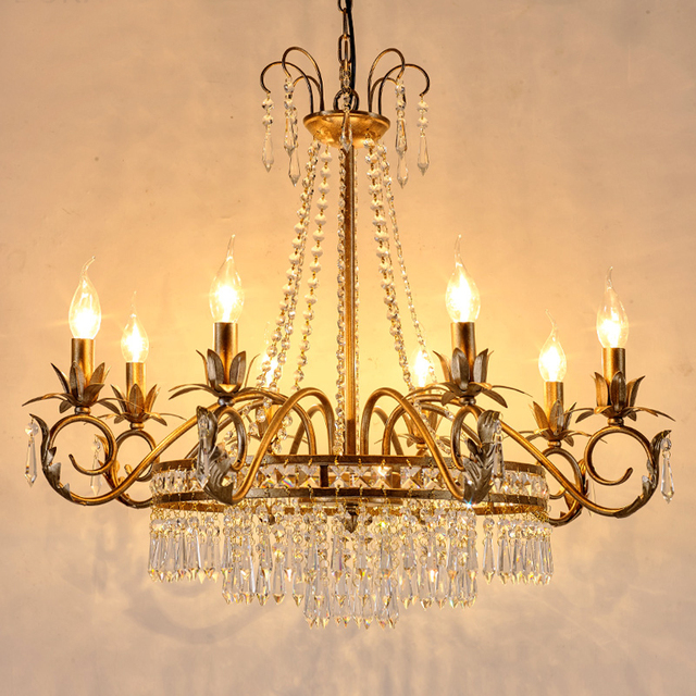 Retro Style Lighting Kitchen Vintage Chandelier For Living Room Edison Chandeliers Country