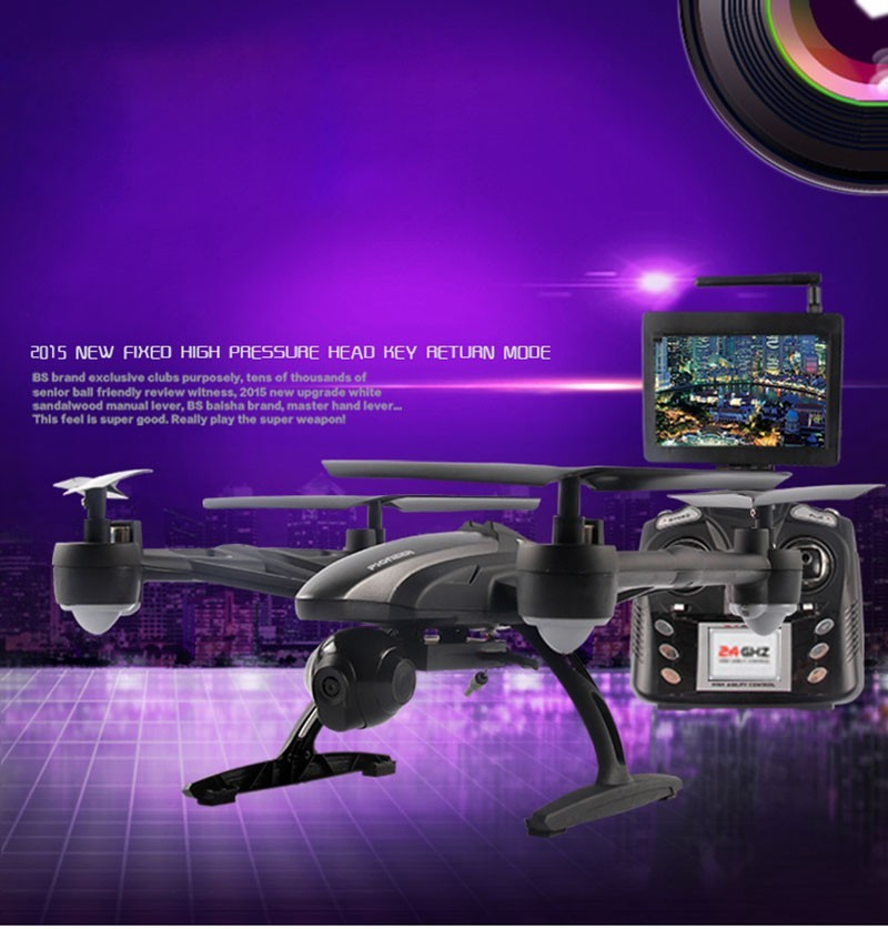 JXD 509G 509V 509W 5.8G Drone with Camera FPV Wifi RC Quadcopter with Camera Headless Mode One Key Return Real Time Video FSWB 9