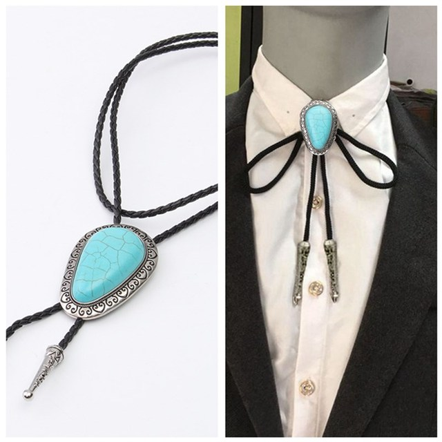 Floral and Heart Doily Western Bolo Tie