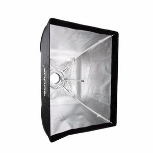 Image 4 - Godox 50x70 cm Ảnh nhiếp Ảnh phòng thu Hình Chữ Nhật Umbrella Softbox với Bowens caliber cho Speedlite Ảnh Strobe Studio