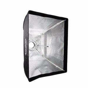 Image 4 - Godox 50x70 سنتيمتر صورة استوديو التصوير مظلة الفوتوغرافي softbox مستطيلة مع بوينس العيار speedlite ستروب استوديو الصور