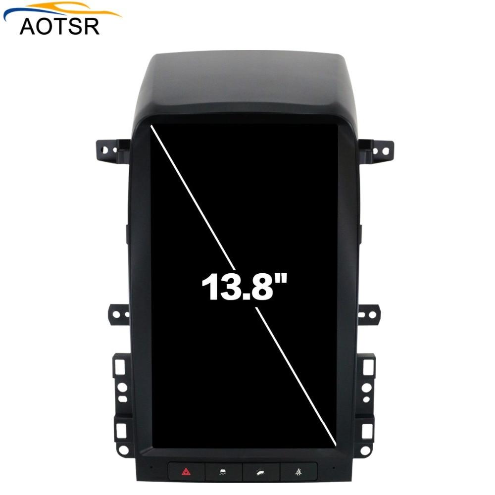 Tesla style big screen Android Car DVD Stereo Autoradio For Chevrolet Captiva 2008 2012 Multimedia RDS GPS Navigation Headunit