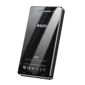 Image 5 - مشغل موسيقى RUIZU D20 الأحدث بمشغل MP3 3.0 بوصة وشاشة كاملة تعمل باللمس وبه راديو FM ومسجل إلكتروني HiFi ويدعم بطاقة TF