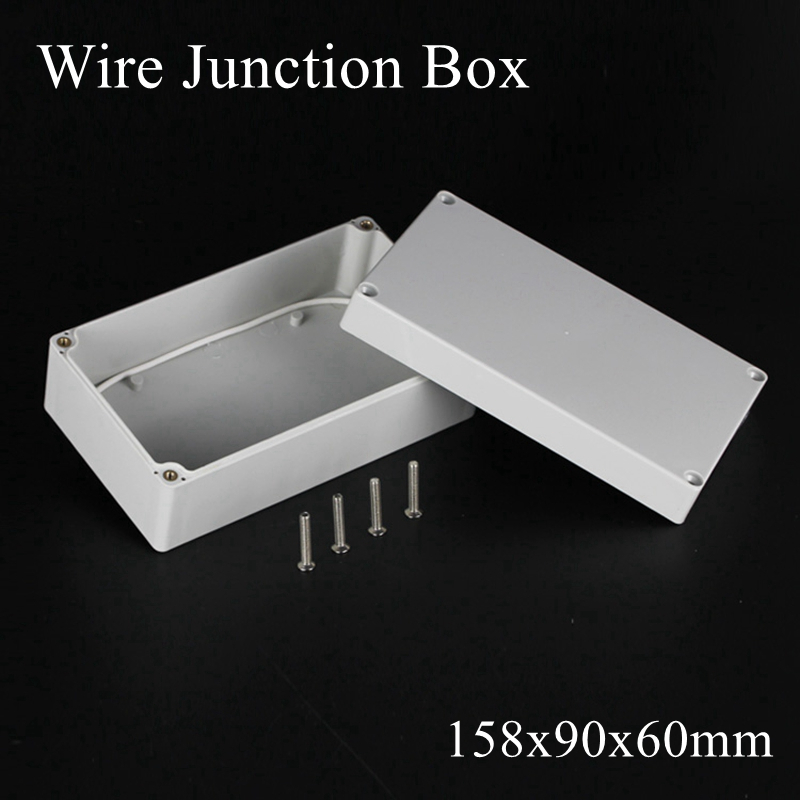 158x90x60mm Waterproof Electronic Junction Box Plastic Enclosure Box Project Instrument Case Electrical Outdoor 158 90 60mm