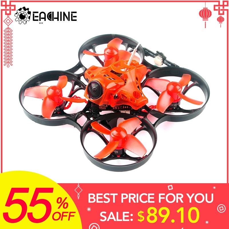 Eachine POUBELLE TC75 75mm Crazybee F4 PRO OSD 2 De Cri de FPV drone de course Caddx Eos2 Caméra 25/200 mW VTX VS Mobula7 Tinyhawk