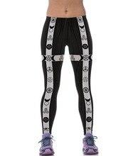 Women 3D Digital Star Print Yoga Pants Black Stretchy Slim Fitness Skinny Running Workout Leggings High Elastic Sport Trousers