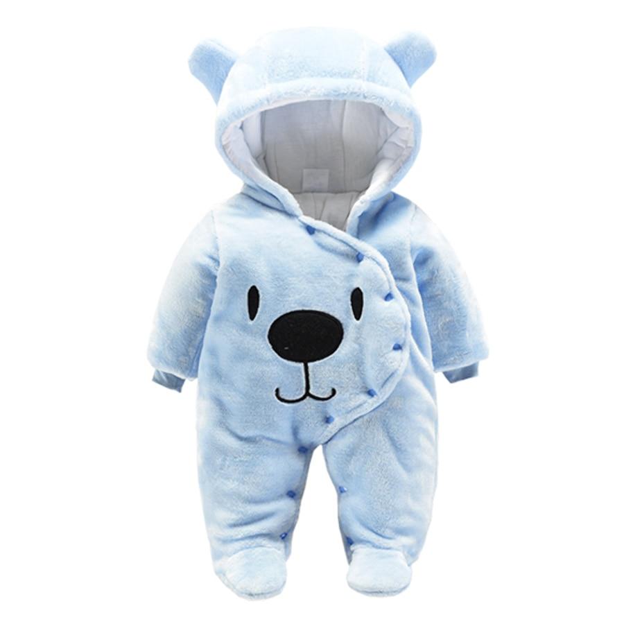 d63f24152 IYEAL bebé recién nacido niños niñas ropa de otoño invierno de dibujos  animados de animales con capucha de lana con capucha mamelucos infantil ...