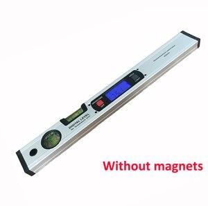Image 4 - Digitale Gradenboog Hoekzoeker Inclinometer Elektronische Level 360 Graden Met/Zonder Magneten Niveau Hoek Helling Test Liniaal 400 Mm