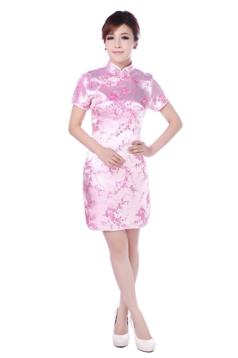 Hot Sale Traditional Chinese Dress Women\'s Clothing Cheongsam Mini ...