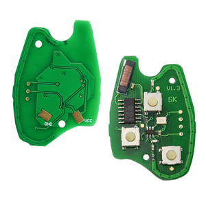 Image 4 - OkeyTech 433MHz ID46 PCF7947 שבב 3 כפתור רכב מרחוק מפתח Fob עבור רנו/Kangoo השני/קליאו III אוטומטי החלפת Keyless מעורר