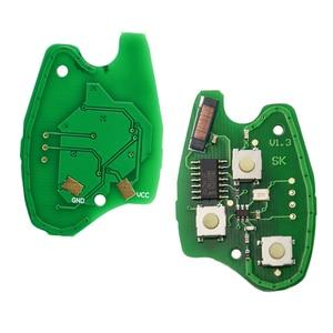 Image 4 - OkeyTech 433MHz ID46 PCF7947 Chip di 3 Auto Tasto Chiave A Distanza Fob Per Renault/Kangoo II/Clio III auto pezzi di Ricambio Keyless Allarme