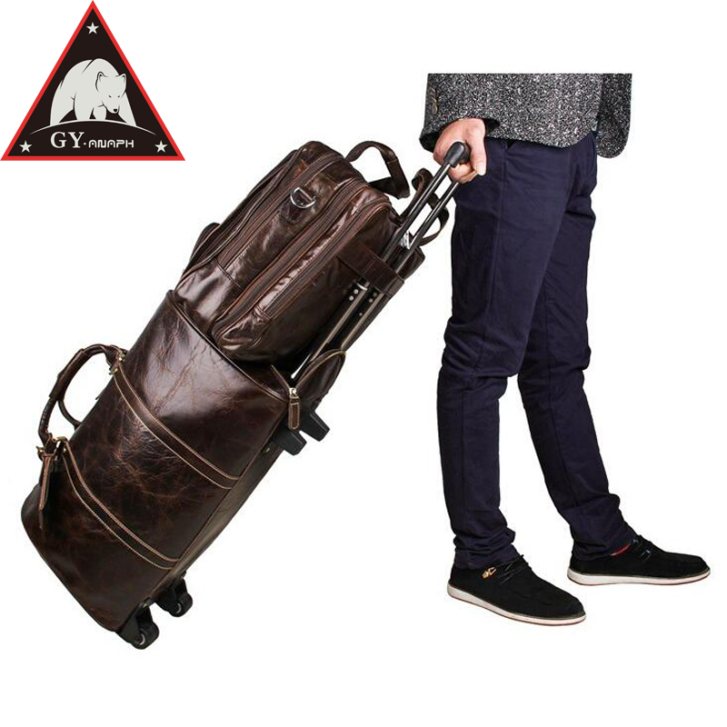 все цены на ANAPH Full Grain Leather Business Briefcase For Men 17 Inch Laptop Bag Large Capacity Treble Zips Open Big Travel Bags In Coffee