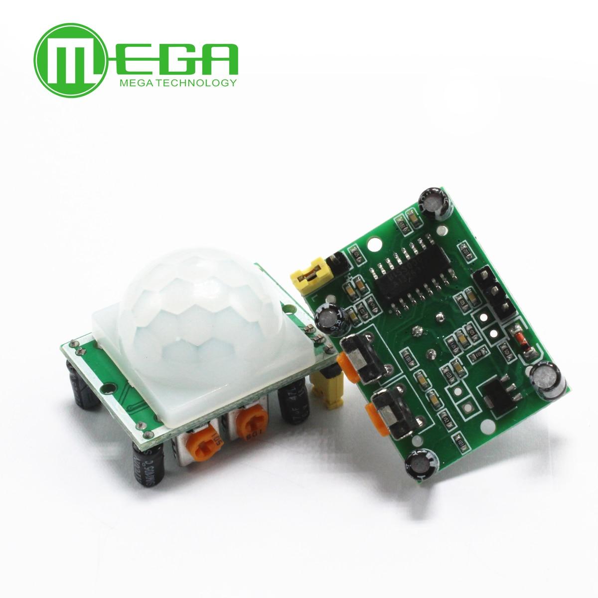 10PCS HC-SR501 HCSR501 Adjust IR Pyroelectric Infrared PIR module Motion Sensor Detector Module
