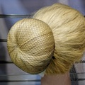 whole sale 100pcs hairnet 5mm nylon ballet bun hair nets invisible disposable hair net 10inch five colors mix
