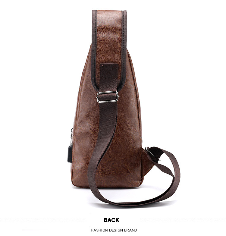 Messenger Bag Men s Chest Bag Portable Charging Casual Outdoor Sports Pu  Crossbody Bags 2018 New Back Pack Travel category1 messenger bag men aa7e2642381b8