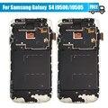 10 pçs/lote para samsung galaxy s4 i9505 i9500 lcd screen display toque digitador assembléia com quadro livre dhl