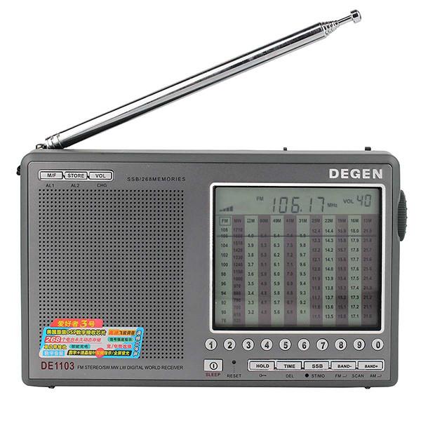 Hot Sale DEGEN DE1103 DSP Radio FM SW MW (3)