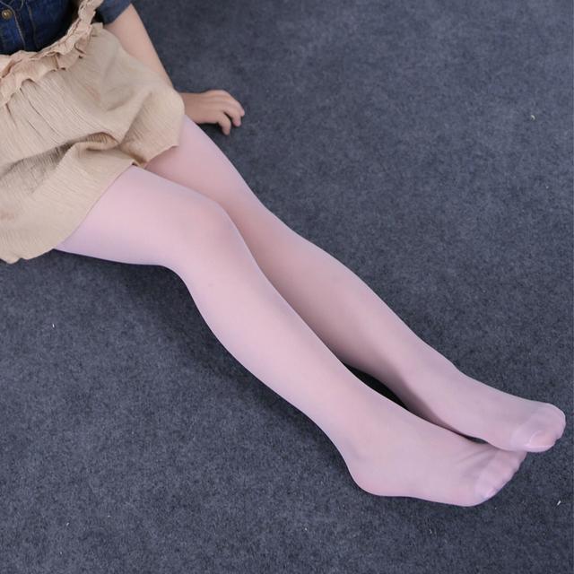 Transparent Ballet Stockings for Girls
