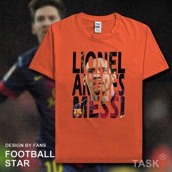 2cb0c03c026c LIONEL MESSI T-Shirt-Barca Fútbol Argentina UCL La Liga...