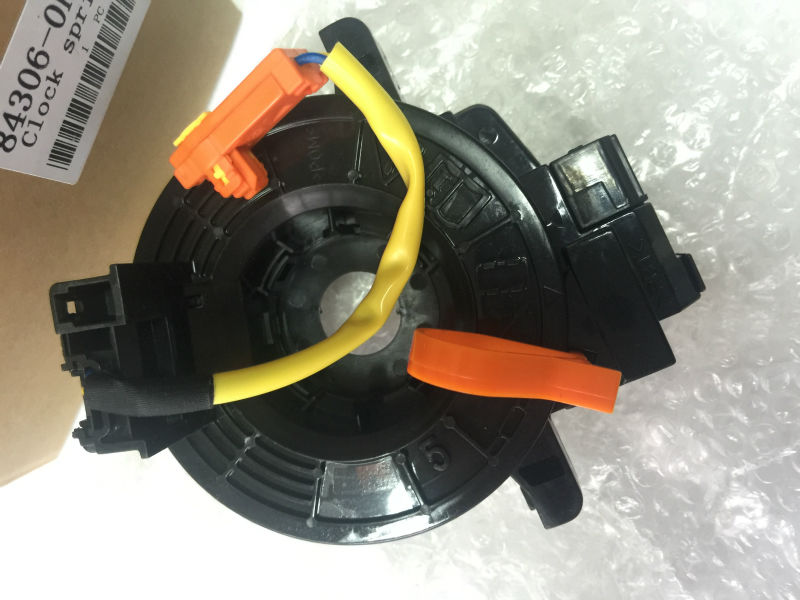 Spiral Cable Clock Spring 84306-0k020 84306-0k021 For Toyota Hilux 2005-2013