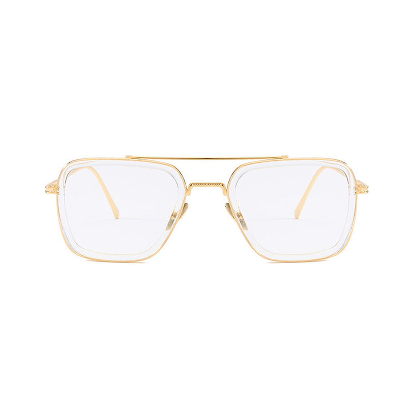 Seemfly Iron Man Same Staly Clear Vision Glasses Magnifier Read Eyewear Reading Glasses Portable Presbyopic Magnification in Men 39 s Reading Glasses from Apparel Accessories