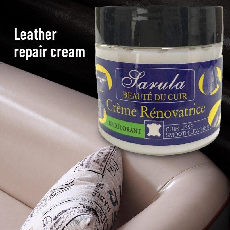 Liquid-Cream Paint-Care Polish Repair-Paste Car-Seat Cracks Vinyl Scratch Auto Restoration
