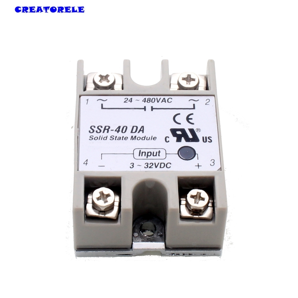 Hot new temperature control solid state timer relay ssr 40da 40a 3 hot new temperature control solid state timer relay ssr 40da 40a 3 32v dc 24 380v ac in relays from home improvement on aliexpress alibaba group sciox Images