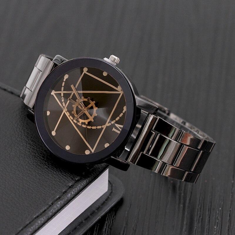 Роскошные оригинальные брендовые парные часы, мужские часы, женские модные парные часы из нержавеющей стали, часы reloj hombre reloj mujer montre
