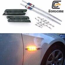 Eonstime 2 unids Humo LED de Marcador Lateral Luces Intermitentes Para BMW E90 E91 E92 E93 E81 E88 E60