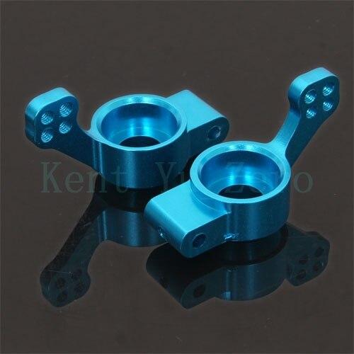 102012 HSP Blue Alum Rear Upright ( L/R ) For RC 1/10 Model Car 02013 Upgrade Parts, RC Car HSP REDCAT HIMOTO