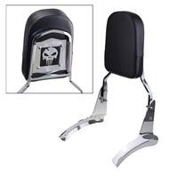 For Honda Shadow Aero 1100 Chrome Motorcycle Motorbike Rear Backrest Sissy Bar With Cushion Pad