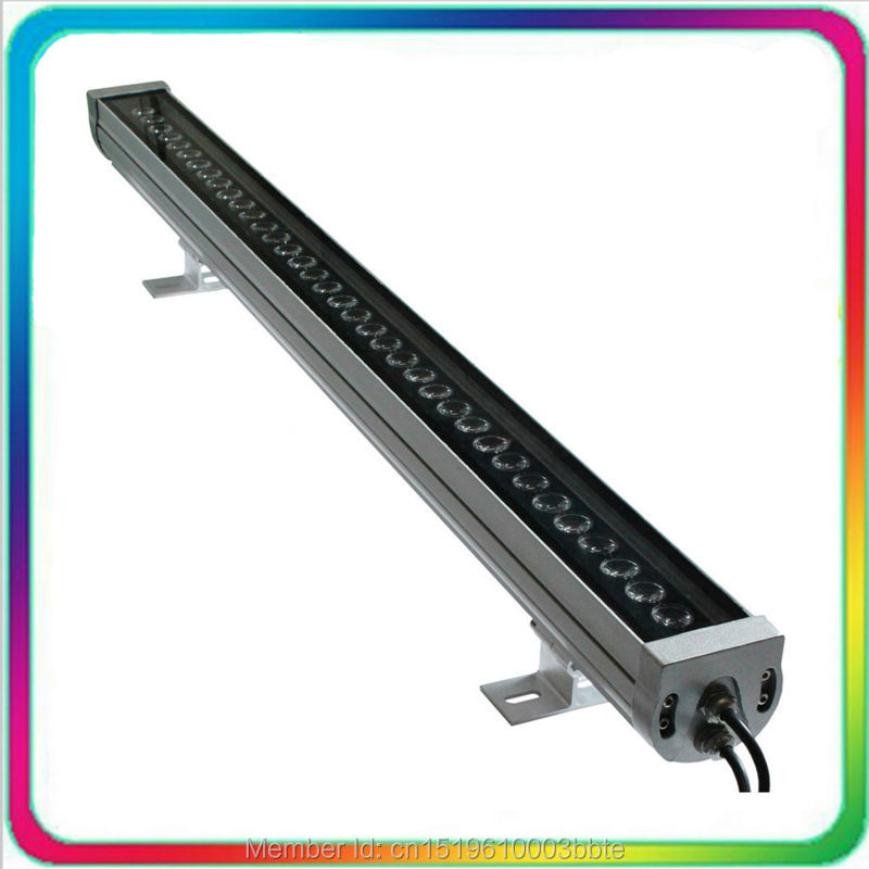 5PCS Warranty 3 Years Outdoor Color Change 36W DMX RGB LED Wall Washer DMX512 LED Floodlight Flood Light Lamp