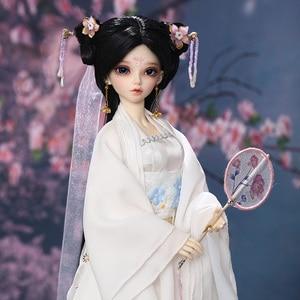 Fairyland Minifee Niella 1/4 BJD DOLLS fullset boy msd luts dollmore bluefairy High Quality toys resin luodoll(China)