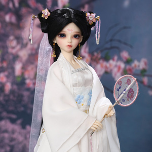 Fairyland Minifee Chloe 1/4 BJD SD Doll Fairyline MSD Luts Littlemonica Fashion gift ancient clothes style(China)