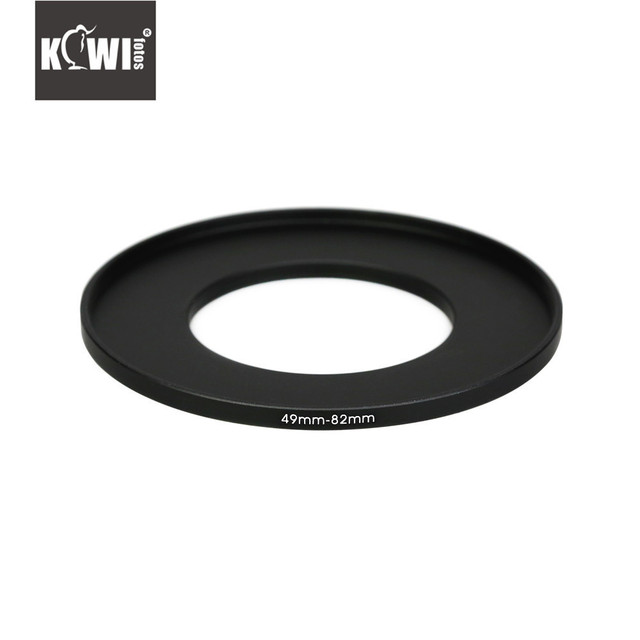 KIWI Camera Metal Adapter Tube 49mm 82mm Filters Hoods Lens Converters Ring for Olympus/Panasonic/Pentax/Canon/Nikon/Sony/Fuji