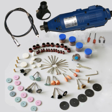 130W  MultiPro Drill  Carving Pen Soft Shaft Accessories 162pcs Polishing Kits Factory price
