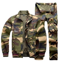 Professional Outdoor Breathable Hunting Clothes Waterproof Ruins Camouflage Jacket Suits for Hunter