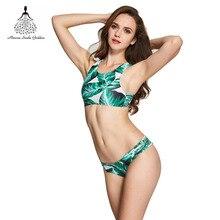 Swimwear Female bikinis women Low waist bikini Printed beach swimsuit bathing suit women Brazilian Bikini Swimwear swim suit